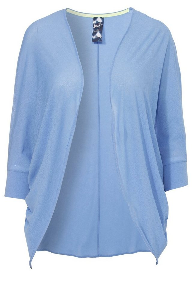 FRAPP Hauchzarte Sommerjacke »La Fashionista« in LIQUID BLUE