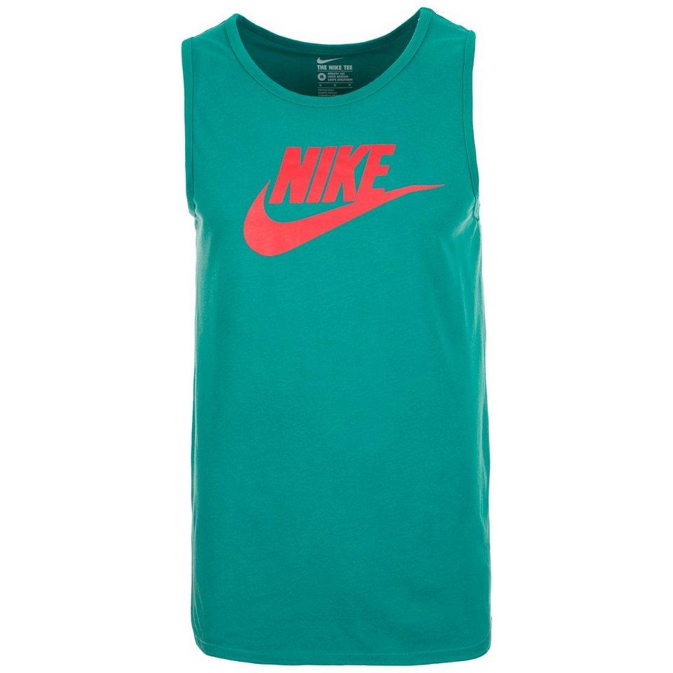 Nike Sportswear Solstice Futura Tanktop Herren in grün / rot