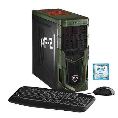 Hyrican Gaming PC Intel® i7-6700, 16GB, HDD + SSD, GeForce® GTX 1060 »Military Gaming 5164«