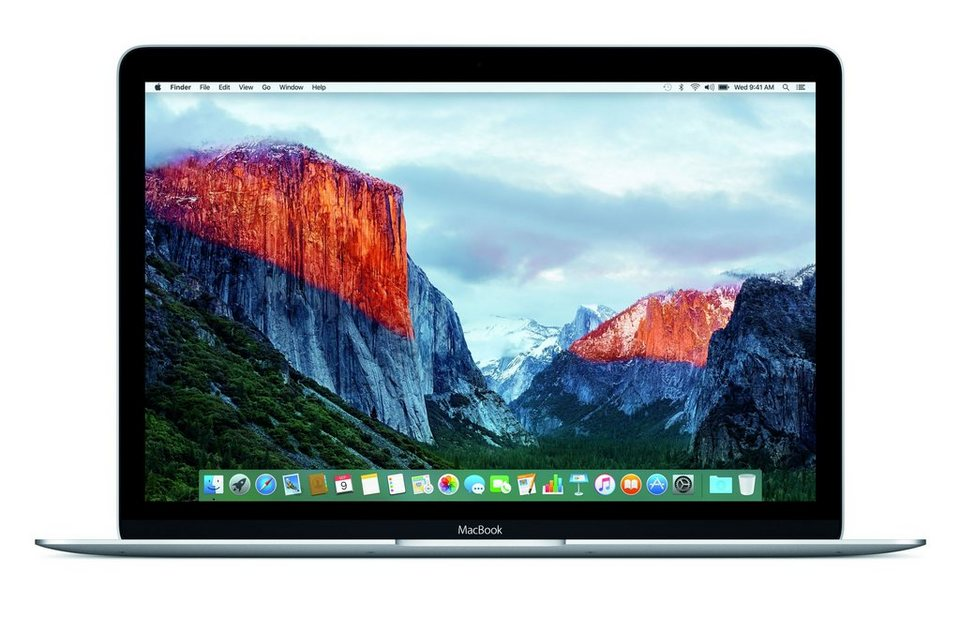 "APPLE MacBook CTO »Intel Core m7, 30,5cm (12""), 512 GB SSD, 8 GB« in silber"