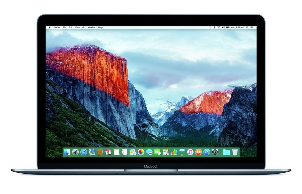 "APPLE MacBook CTO Notebook »Intel Core m7, 30,5cm (12""), 256 GB SSD, 8 GB« in grau"