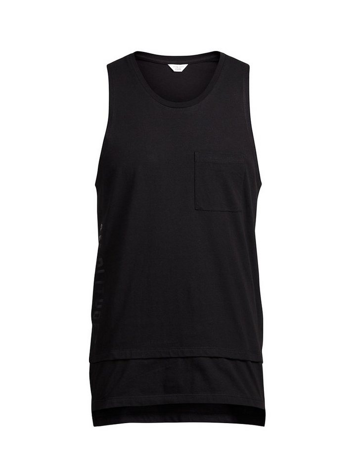 Jack & Jones Detailliertes Tank Top in Black