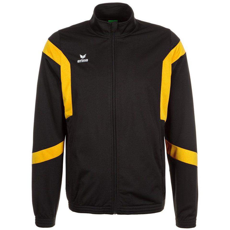 ERIMA Classic Team Trainingsjacke Herren in schwarz / gelb