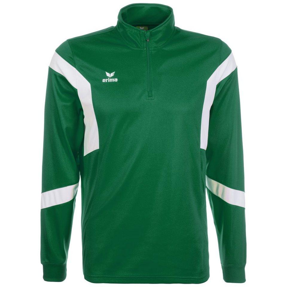 ERIMA Classic Team Trainingslongsleeve Herren in smaragd / weiß