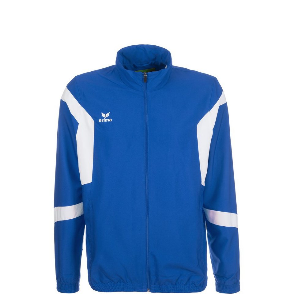 ERIMA Classic Team Präsentationsjacke Kinder in new royal / weiß