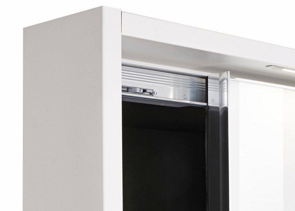 nolte m bel kranz f r den 3 t rigen kleiderschrank marcato mit integrierter beleuchtung. Black Bedroom Furniture Sets. Home Design Ideas