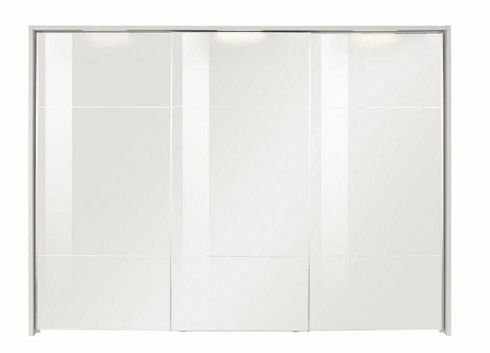 nolte® Möbel Kranz für den Kleiderschrank »Marcato« mit integrierter Beleuchtung in polarweiß