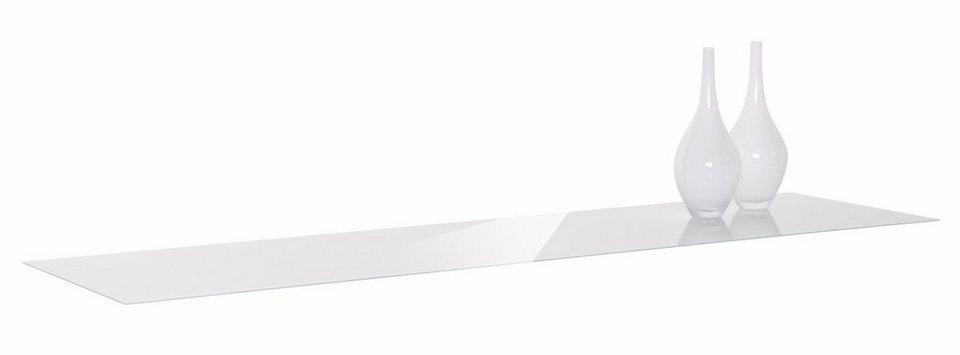 nolte® Möbel Glasabdeckplatte »Alegro Style« Breite 160 cm in weißglas