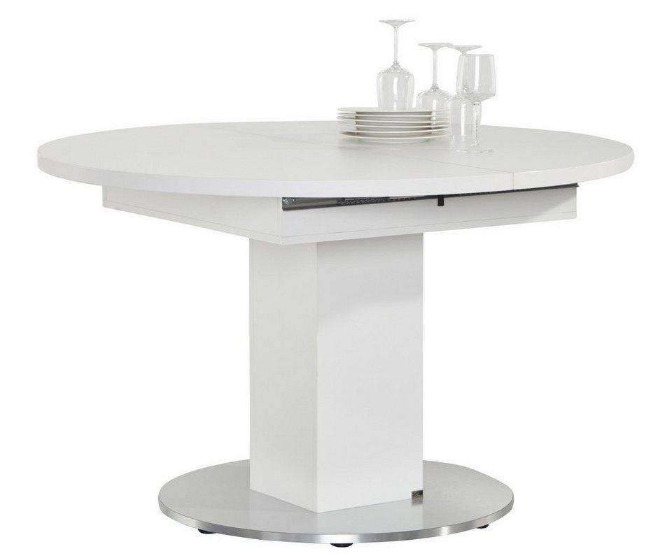 Tisch Rund Zum Ausziehen.Set One By Musterring Esstisch Atlanta Mit Auszugsfunktion 5 Jahre Hersteller Garantie Online Kaufen Otto