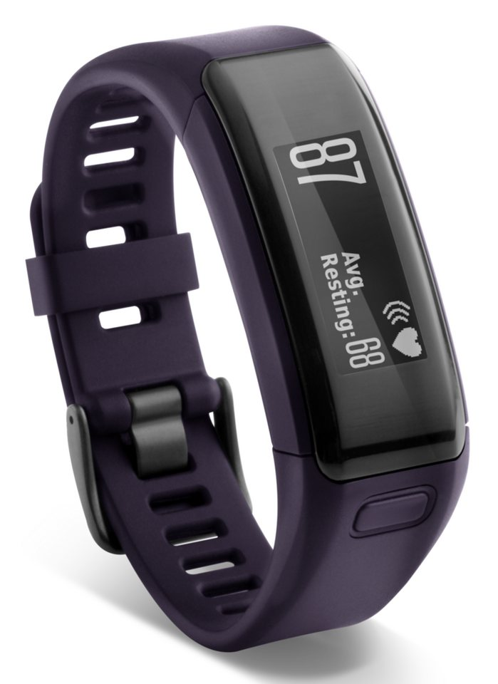 Garmin Activity-Tracker »Vivosmart HR (regular)« in Lila