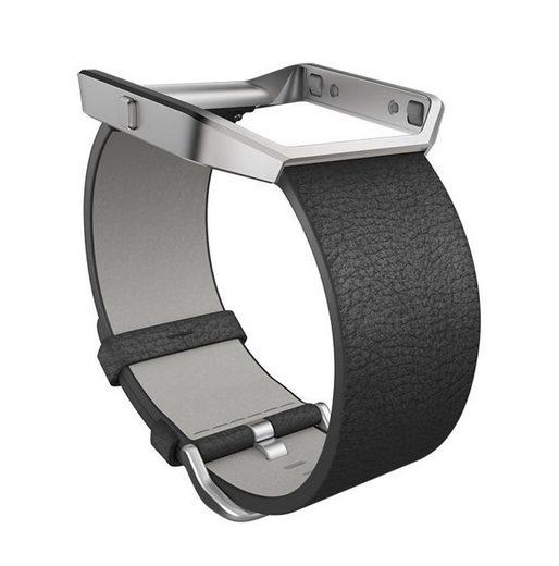 fitbit Ersatz-/Wechselarmband »Leder Armband für BLAZE in Größe L«