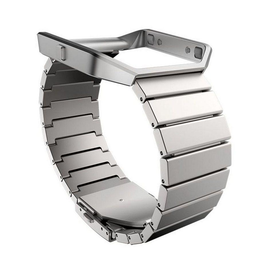 fitbit Ersatz-/Wechselarmband »Metal Armband Edelstahl für BLAZE« in Silber