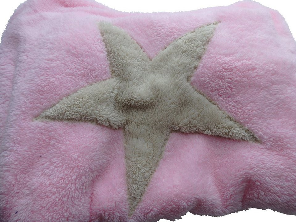 Hundedecke und Katzendecke »Pooch«, LxB: 67x87 cm, Rosa-creme in rosa