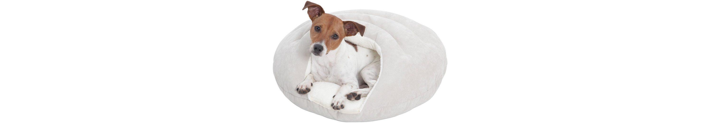Hundehöhle und Katzenhöhle »Bubble«, ØxH: 58x25 cm, Creme