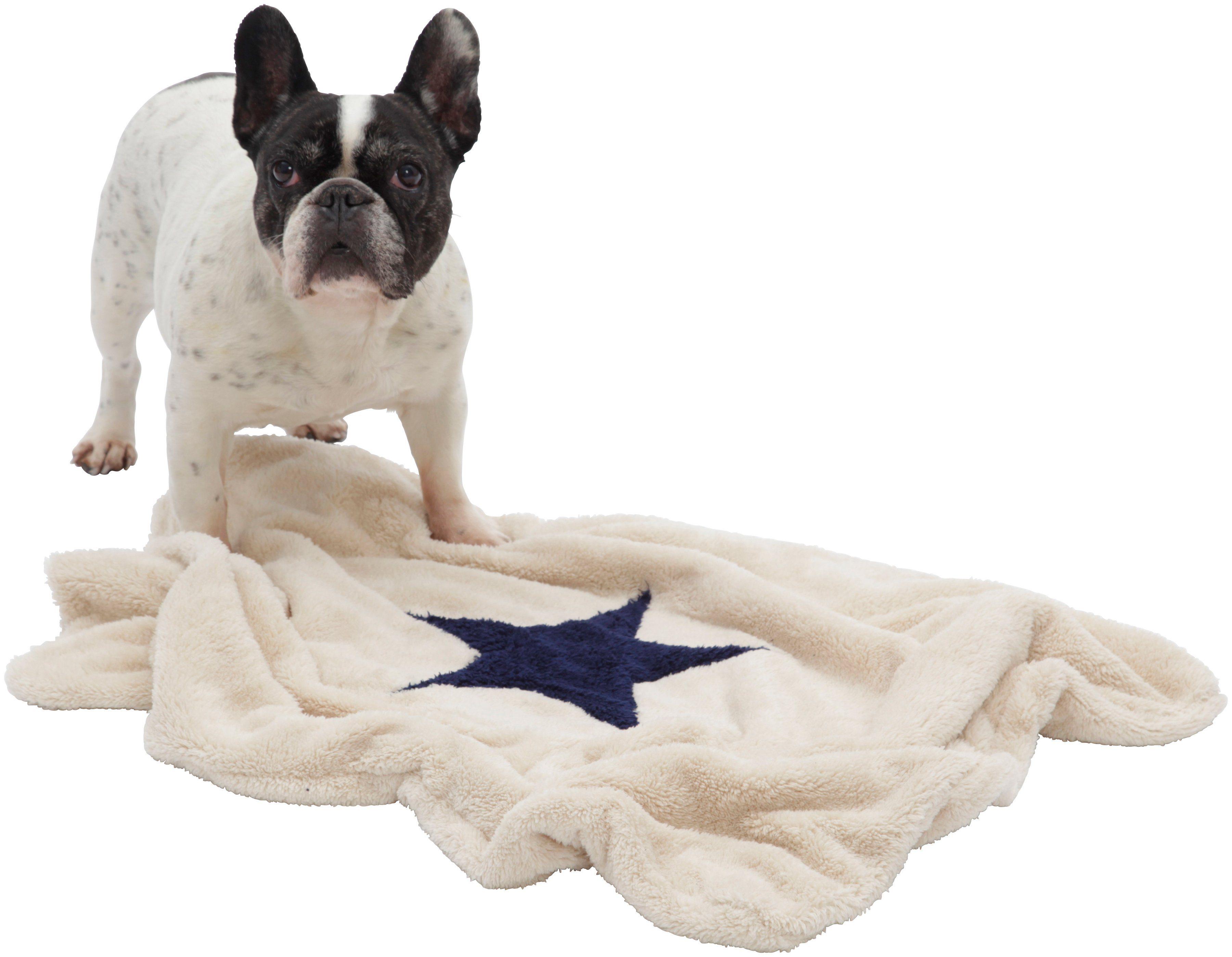 Hundedecke und Katzendecke »Pooch«, LxB: 67x87 cm, Creme