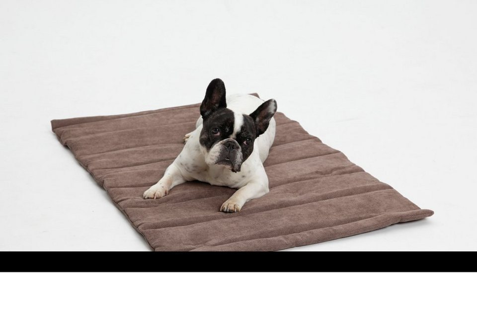 Hundedecke und Katzendecke »Mat Madison«, Reisedecke mit Tragegriff, LxB: 55x75 cm, braun in braun