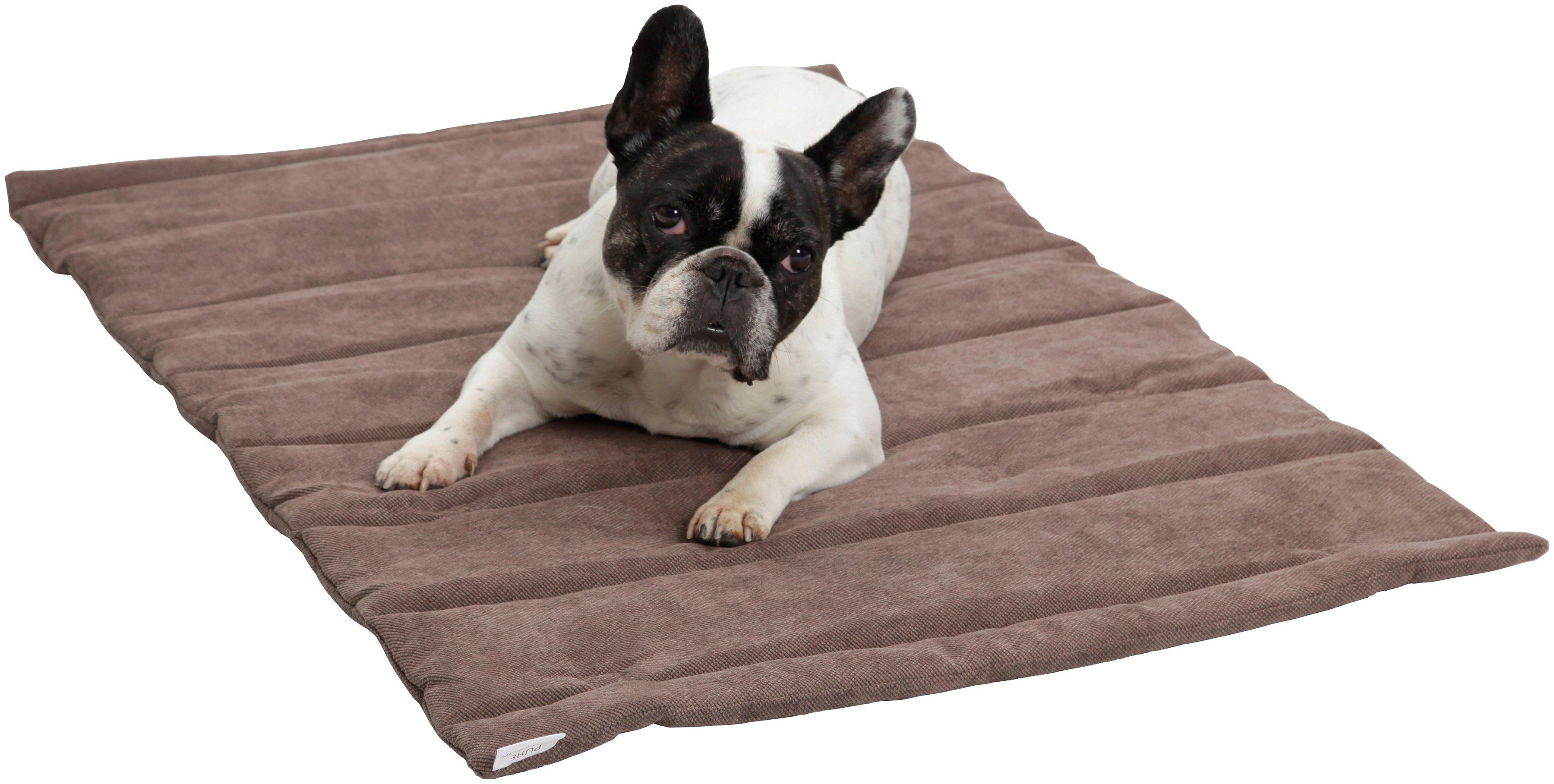 Dogs In The City Hundedecke und Katzendecke »Mat Madison«, Reisedecke mit Tragegriff, LxB: 40x60 cm, braun