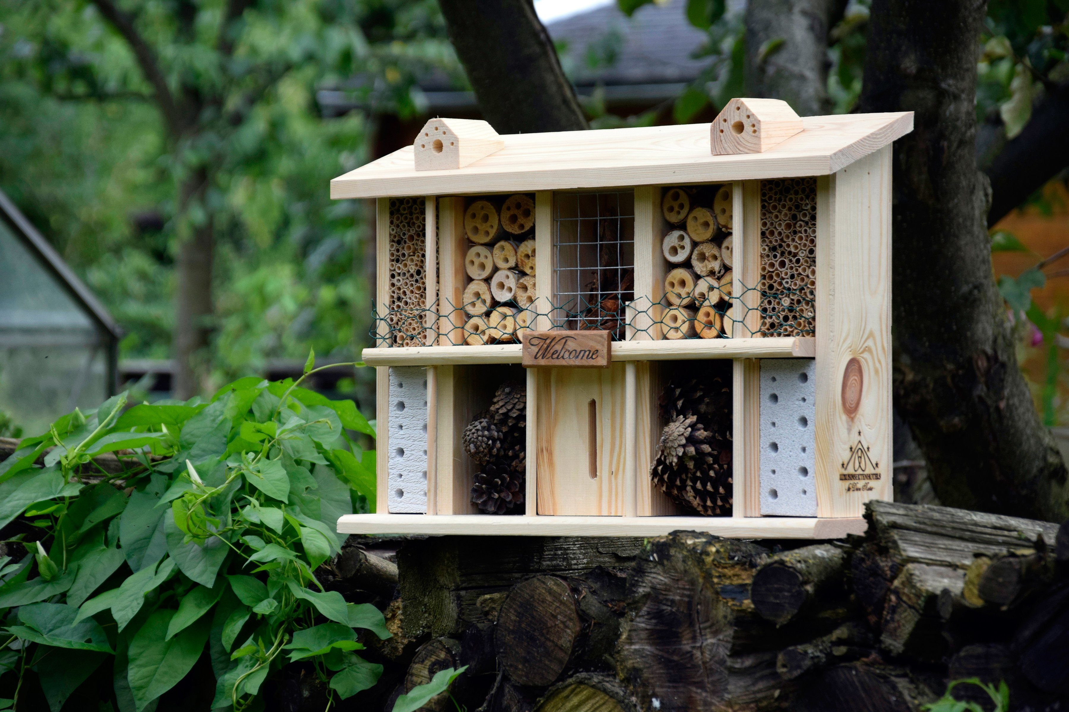Luxusinsektenhotels Insektenhotel »Landsitz Superior«