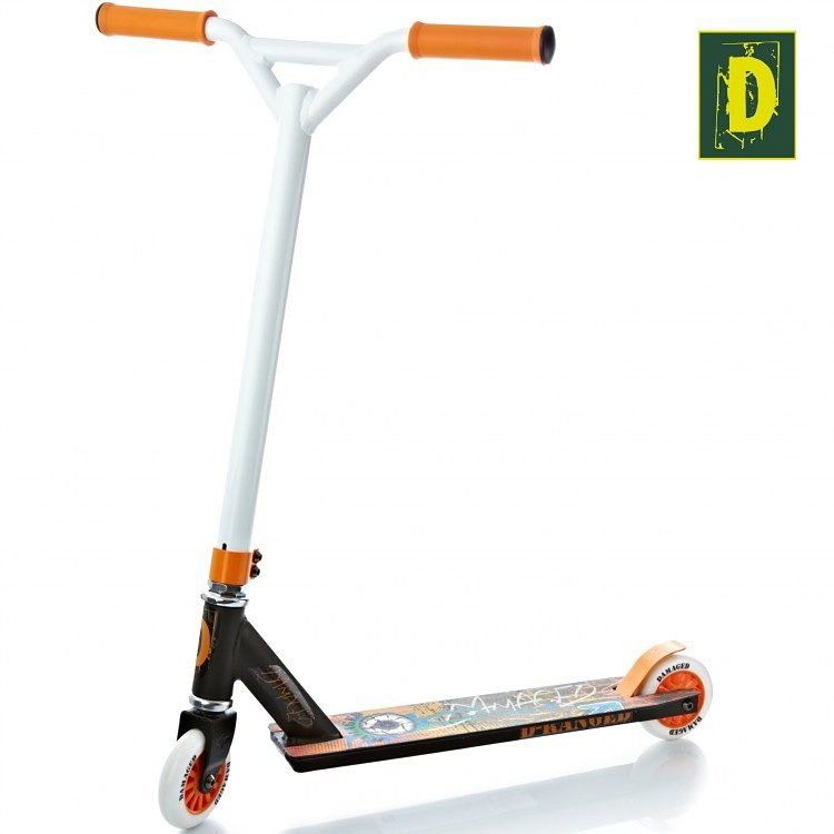 Damaged Stuntscooter, »D-Ranged«