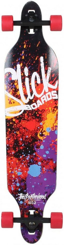 Slick Longboard, »Carver« in mehrfarbig