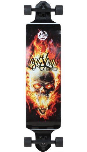 Slick Longboard, »Drop Down Skull«