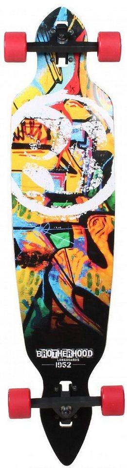 Slick Longboard, »Stinger Graffiti« in schwarz-rot