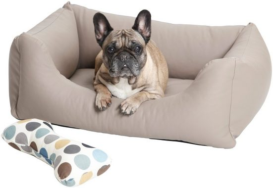 Dogs In The City Hundesofa und Katzensofa »Saddle«, B/T/H: 100/80/30 cm, Sand