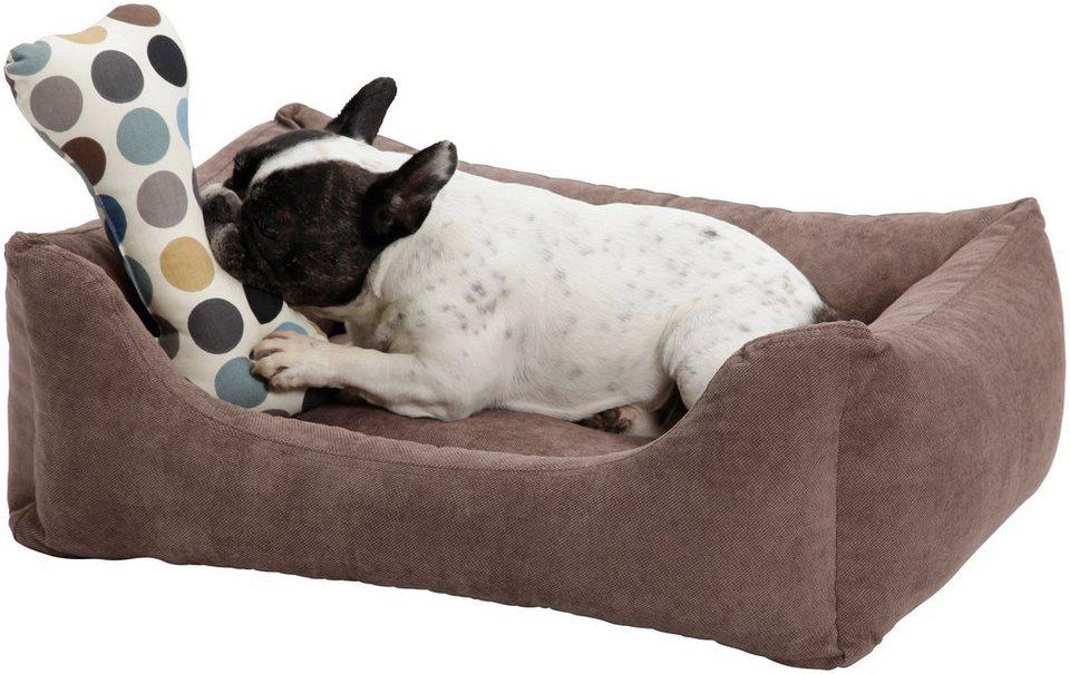 Hundebett und Katzenbett »Madison«, B/T/H: 60/40/25 cm, Braun in braun