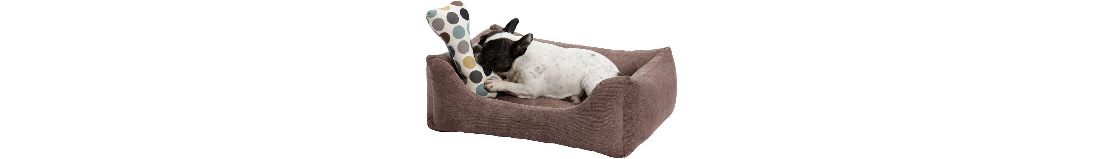 Hundebett und Katzenbett »Madison«, B/T/H: 60/40/25 cm, Braun
