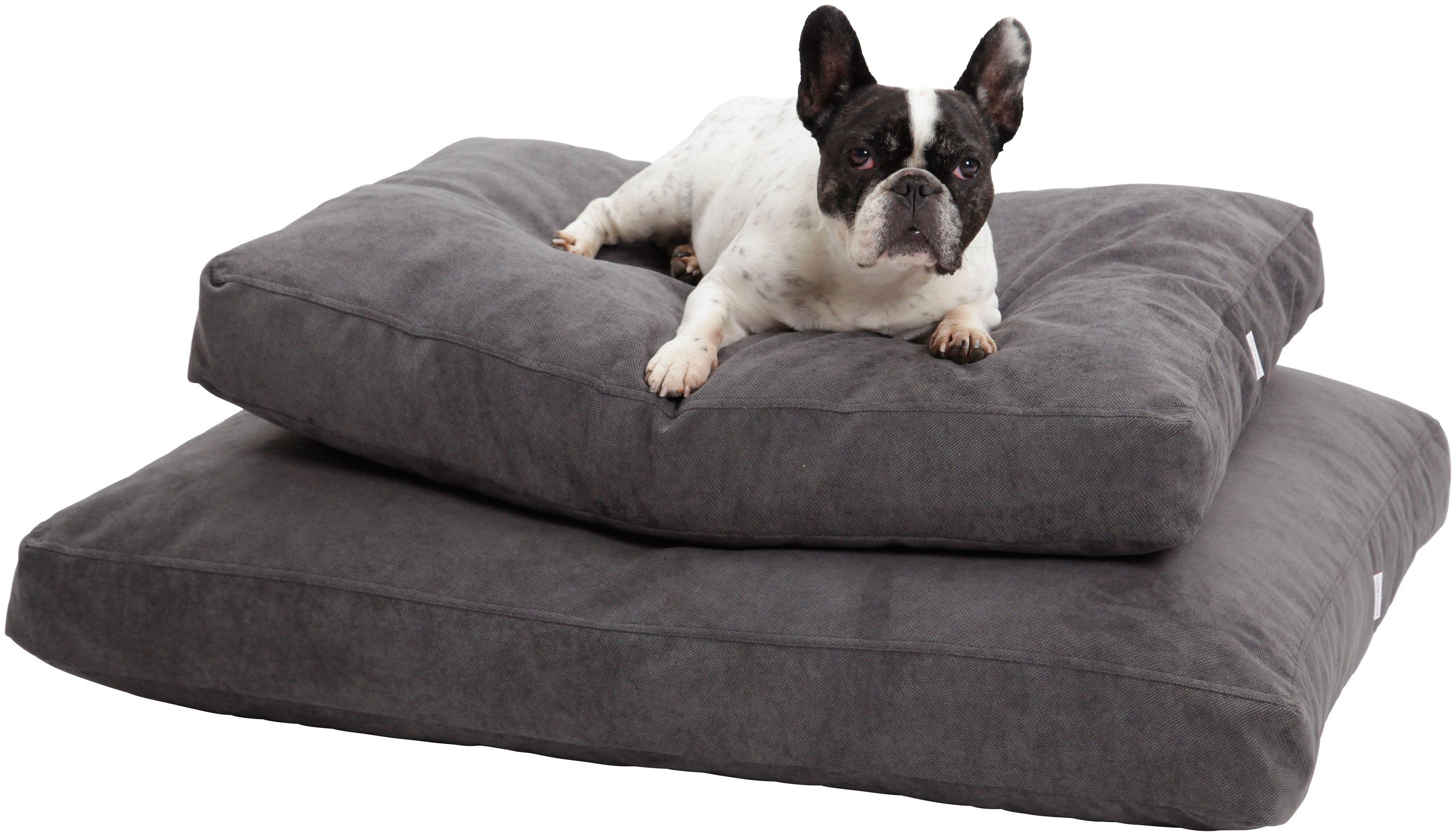 Hundekissen und Katzenkissen »Madison«, B/T/H: 80/60/10 cm, Anthrazit