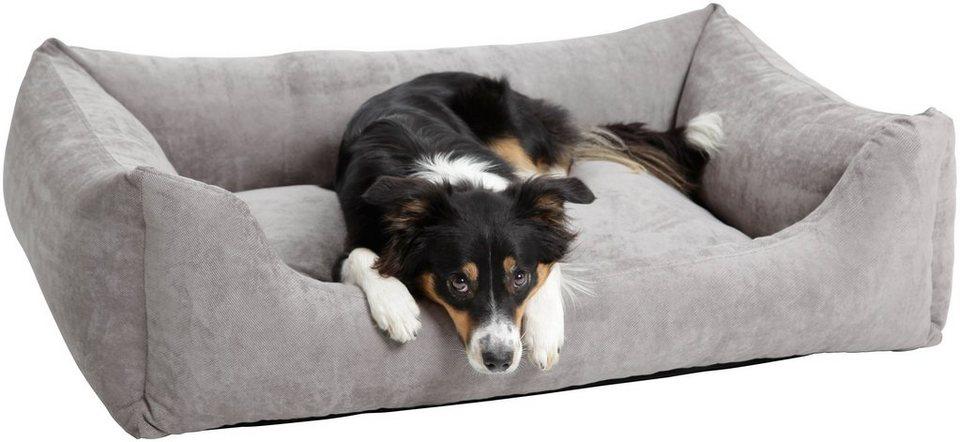 Hundebett und Katzenbett »Madison«, B/T/H: 80/60/28 cm, Grau in grau