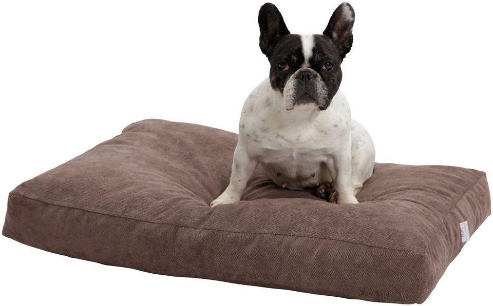 Hundekissen und Katzenkissen »Madison«, B/T/H: 120/90/10 cm, Braun in braun
