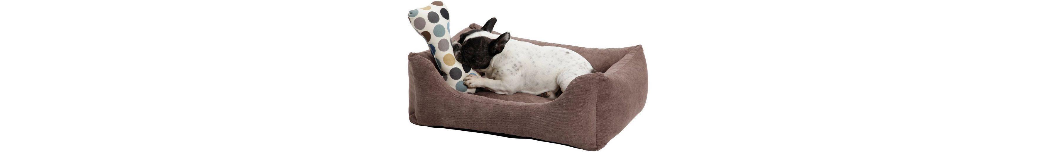 Hundebett und Katzenbett »Madison«, B/T/H: 80/60/28 cm, Braun