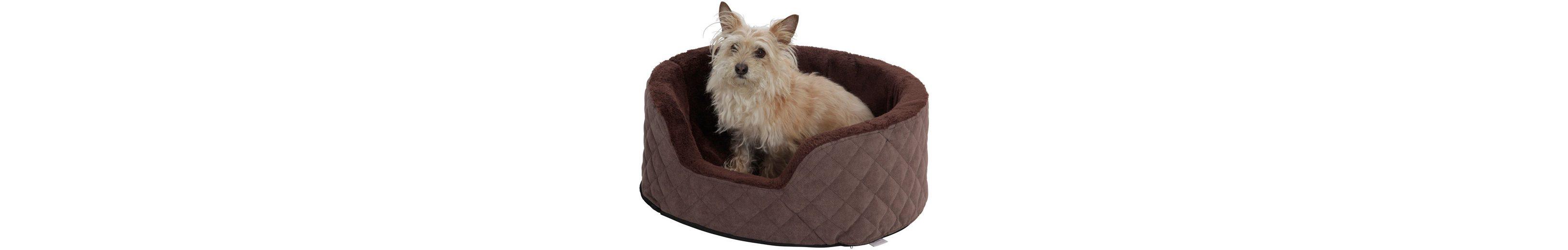 Hundekorb »Madison«, B/T/H: 65/50/25 cm, Braun