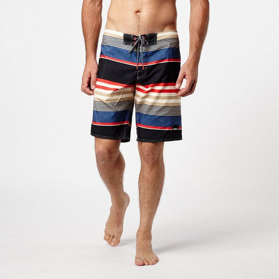 O'Neill Boardshort »Santacruz Stripe« in Scharz / blau