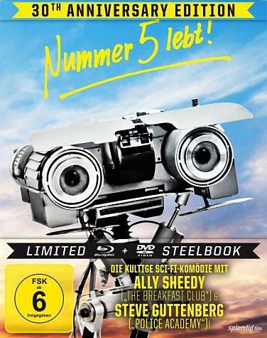 Blu-ray »Nummer 5 lebt! (Limited Steelbook, + DVD)«