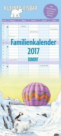 Kalender »Kleiner Eisbär Familienkalender 2017«