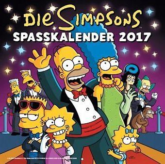 Kalender »Die Simpsons Wandkalender 2017«