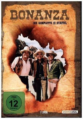 DVD »Bonanza / 12. Staffel«