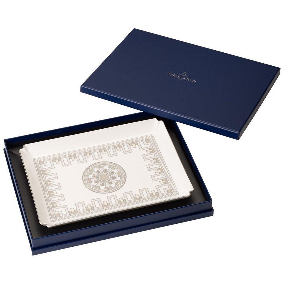 VILLEROY & BOCH Dekoschale groß 28x21cm »La Classica Contura Gifts« in Dekoriert