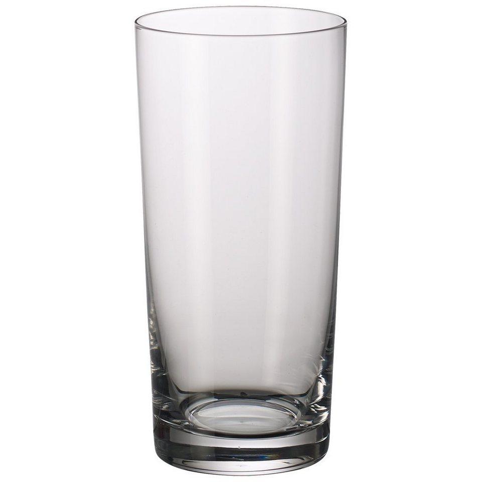 VILLEROY & BOCH Longdrinkglas Set 2 tlg 165mm »Purismo Bar« in Weiss