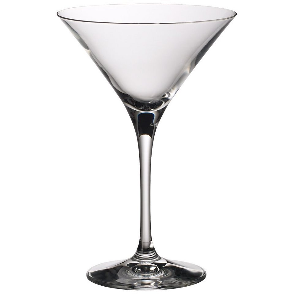VILLEROY & BOCH Martini-/Cocktailglas Set 2 tlg 175 »Purismo Bar« in Weiss