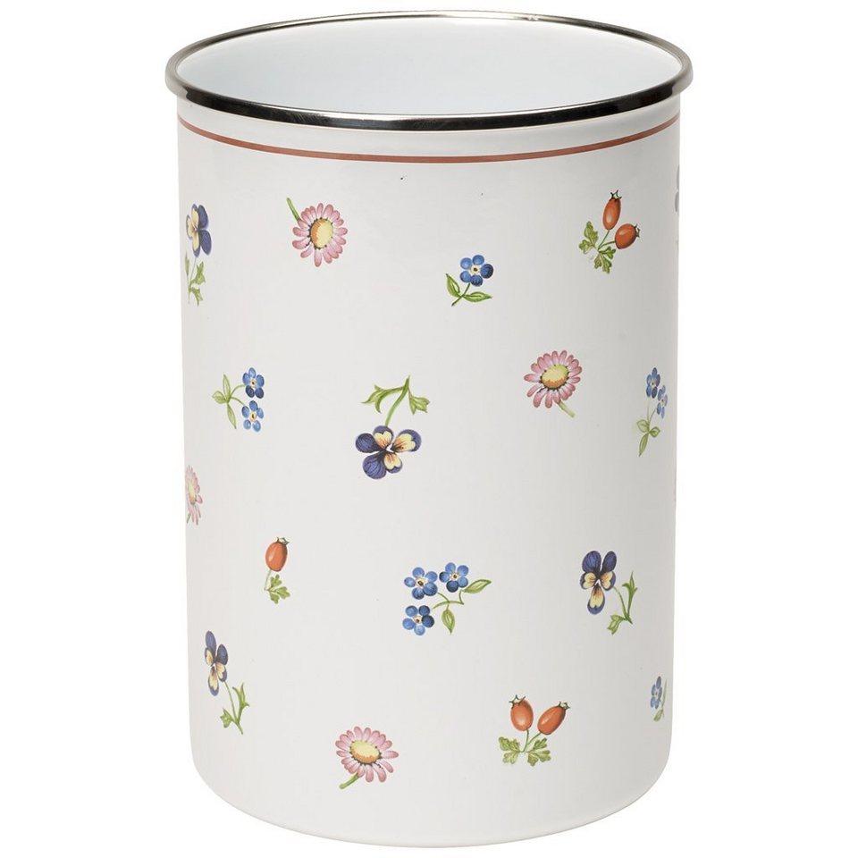VILLEROY & BOCH Utensilienbehälter 11x18cm »Petite Fleur Kitchen« in dekoriert