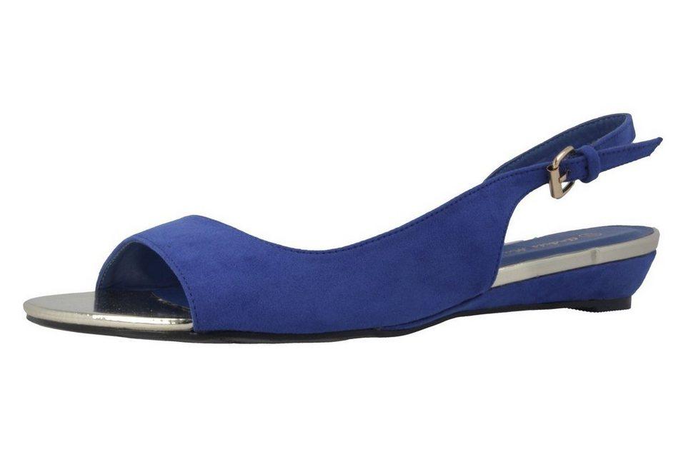 Andres Machado Sandaletten in Blau