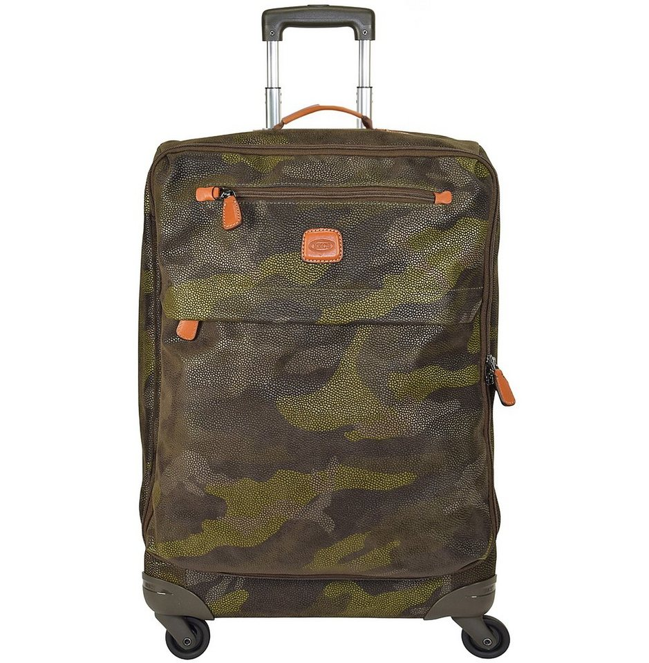 Bric's Life Trolley Spinner 4-Rollen 65 cm in military