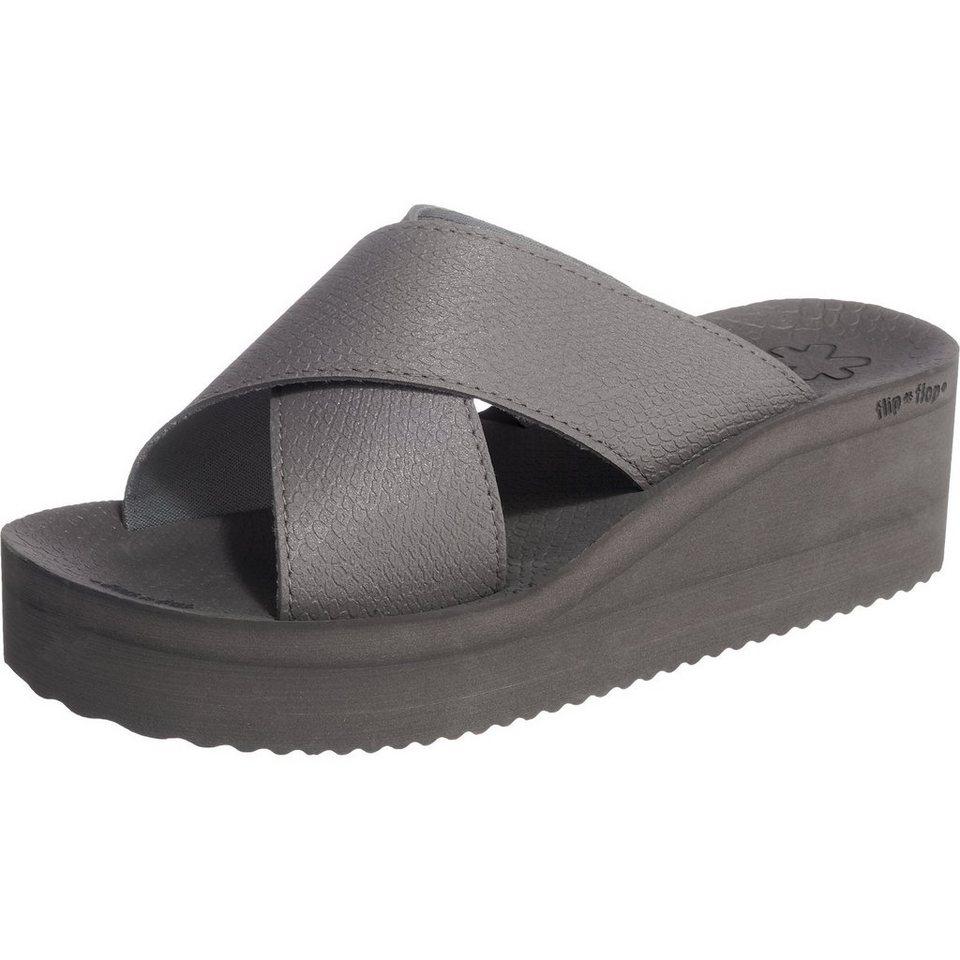 flip flop Pantoletten in grau