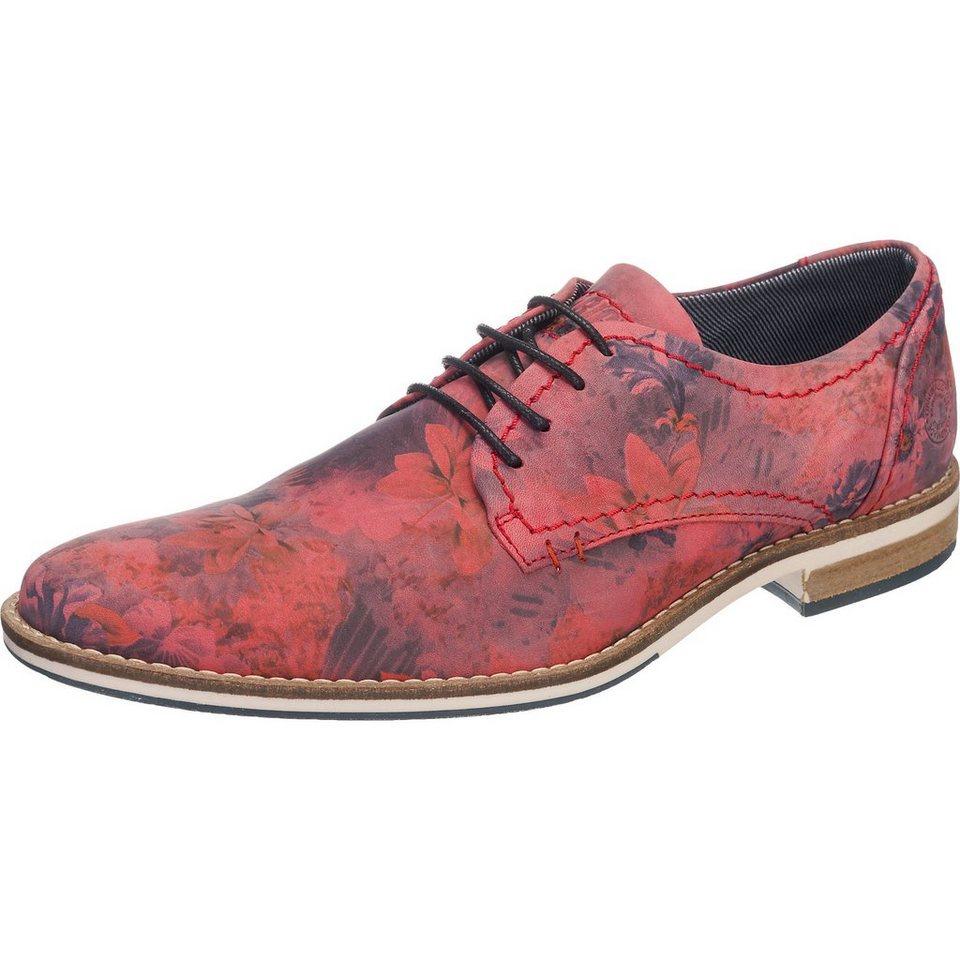 BULLBOXER Freizeit Schuhe in rot-kombi