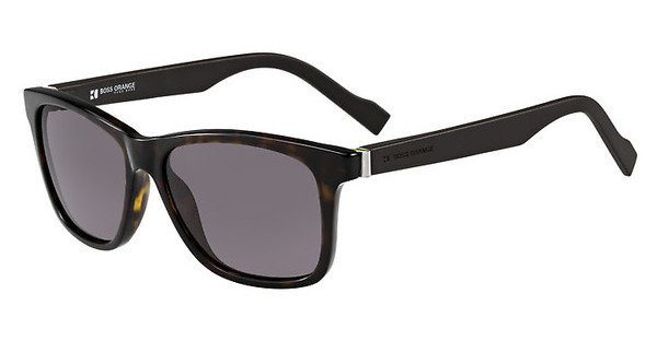 Boss Orange Herren Sonnenbrille » BO 0117/S« in DOE/70 - braun/grau
