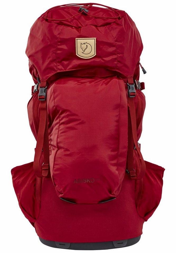 Fjällräven Sport- und Freizeittasche »Abisko 55W Backpack Women« in rot