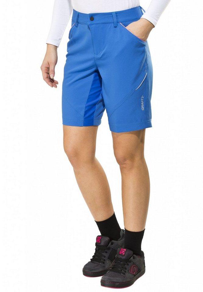 Craft Radhose »Escape Shorts Women« in blau